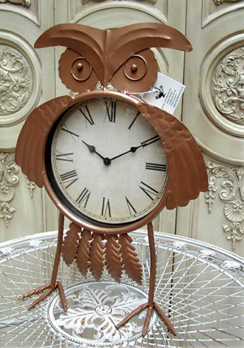 Details Zu Kaminuhr Standuhr Wanduhr Kauz Uhu Uhr Figur Landhaus Retro Tier Eule 0944385 B